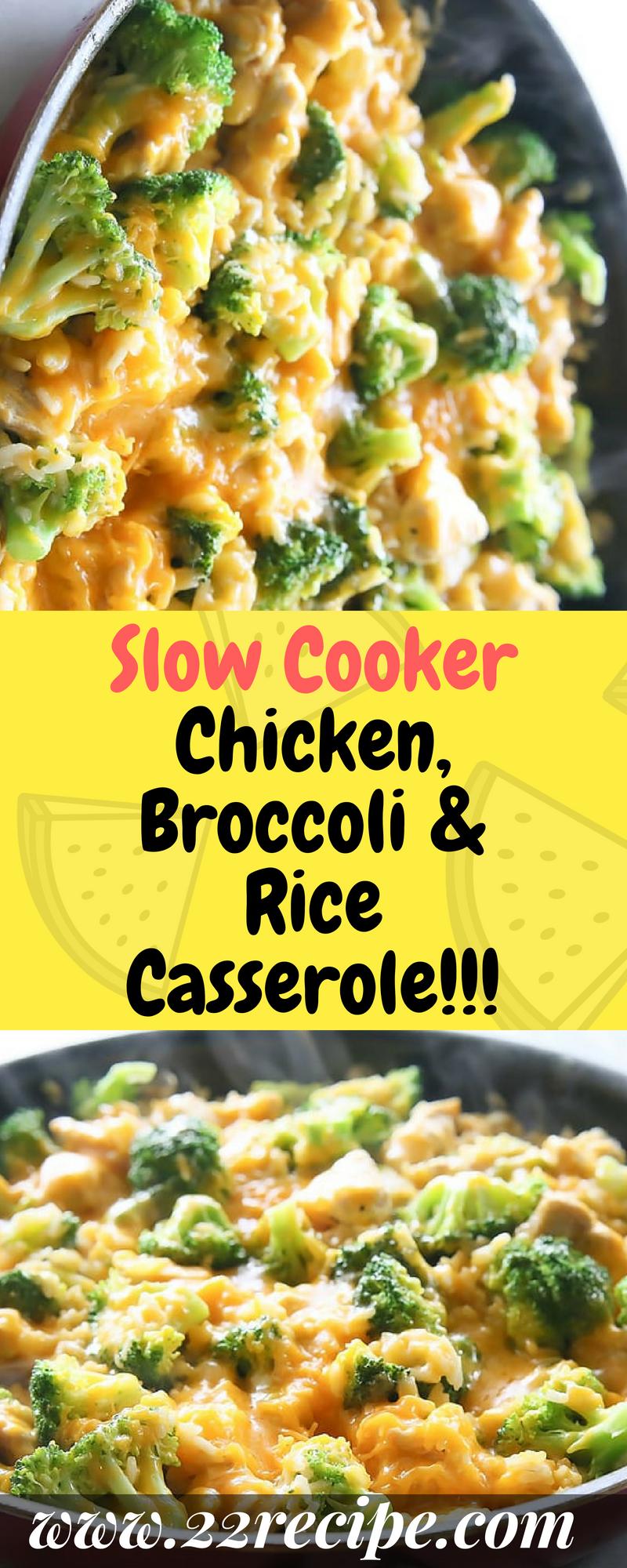 Slow Cooker Chicken, Broccoli  Rice Casserole - 33 -3627