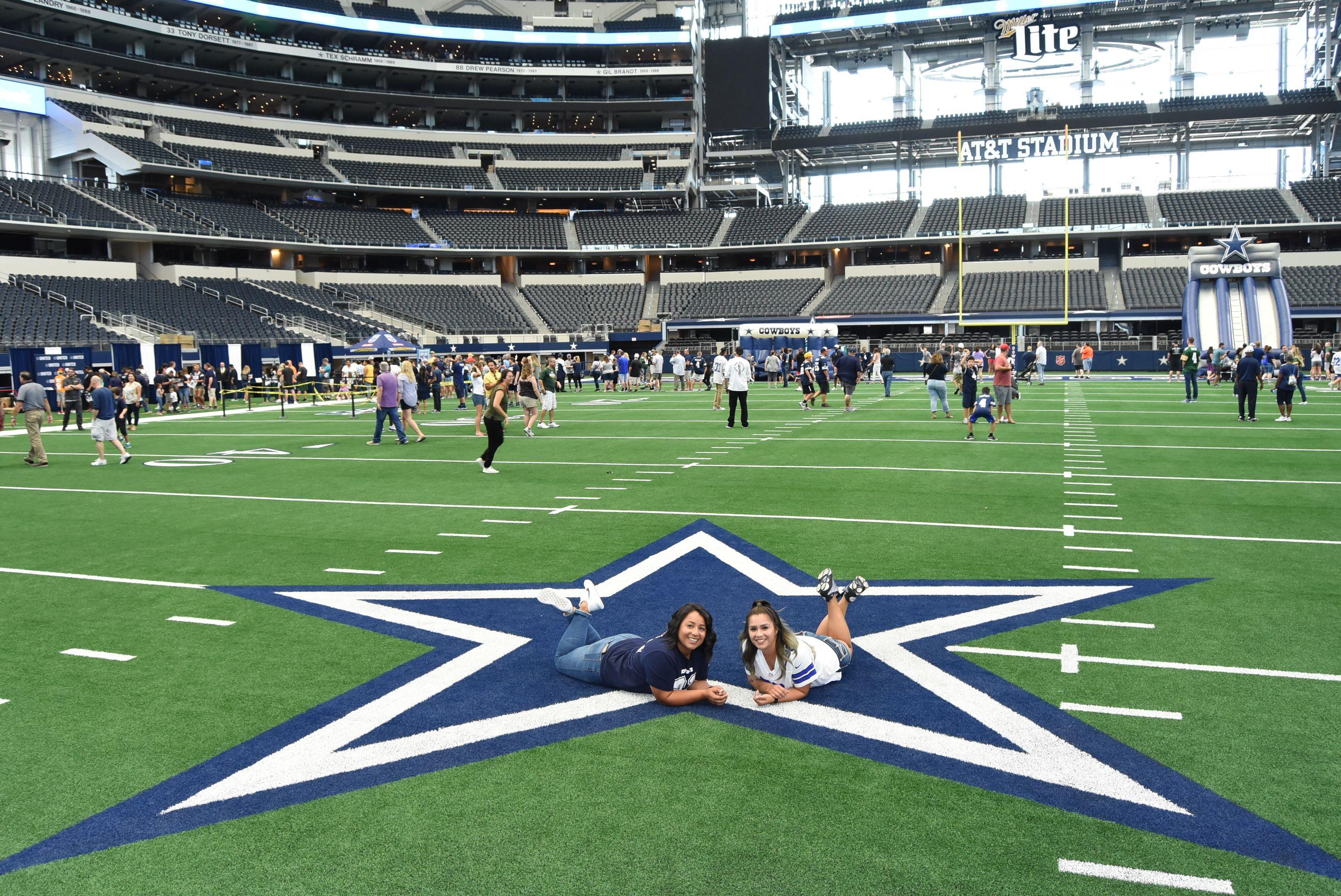 AT&T Stadium Dallas Cowboys Fan Photos in 2020 Stadium