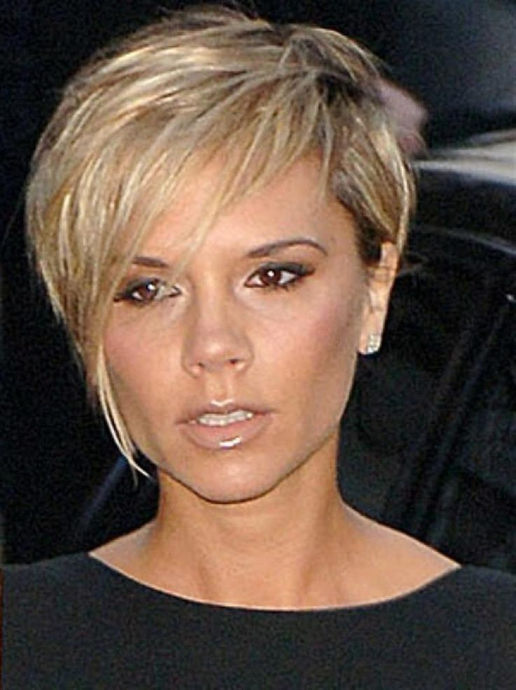 Asymmetrical Hairstyles For Round Faces Bing Very Short Haircuts