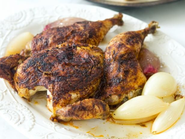 Get Quick Roasted Chicken Recipe from Food Network with this sauce: http://www.foodnetwork.com/recipes/trisha-yearwood/garlicky-herb-sauce-for-quick-roasted-chicken