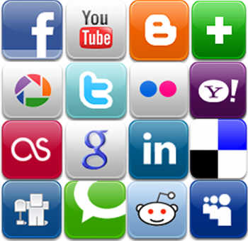Use app icons as bulletin board border for Digital Footprint