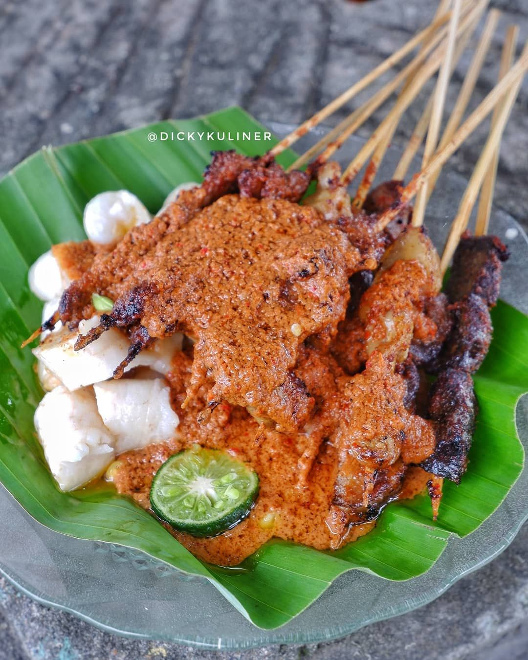 Kuliner Enak Di Lombok Sate Bulayak Makanan Makanan Enak