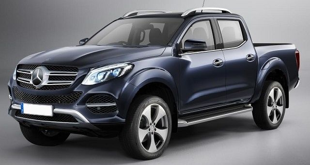2018 Mercedes Benz Glt A Luxurious Pickup Truck