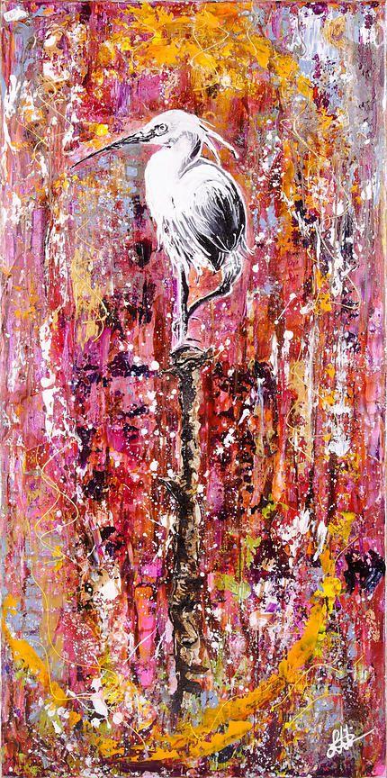 Nouvelle toile de Véronique Longinotti - Art Addict : Galerie d'art en ligne.