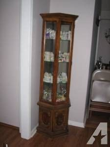 Whitewash Curio Cabinet By Billscustomwoodworks On Etsy 169 95 This Stylish Whitewash Curio Cabinet Is Id Display Cabinet Antique White Paints Curio Cabinet
