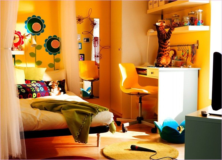 39 Cozy Teenage Girl Bedroom Ideas With IKEA Furniture Bedroom - Teen Room Decorating Ideas