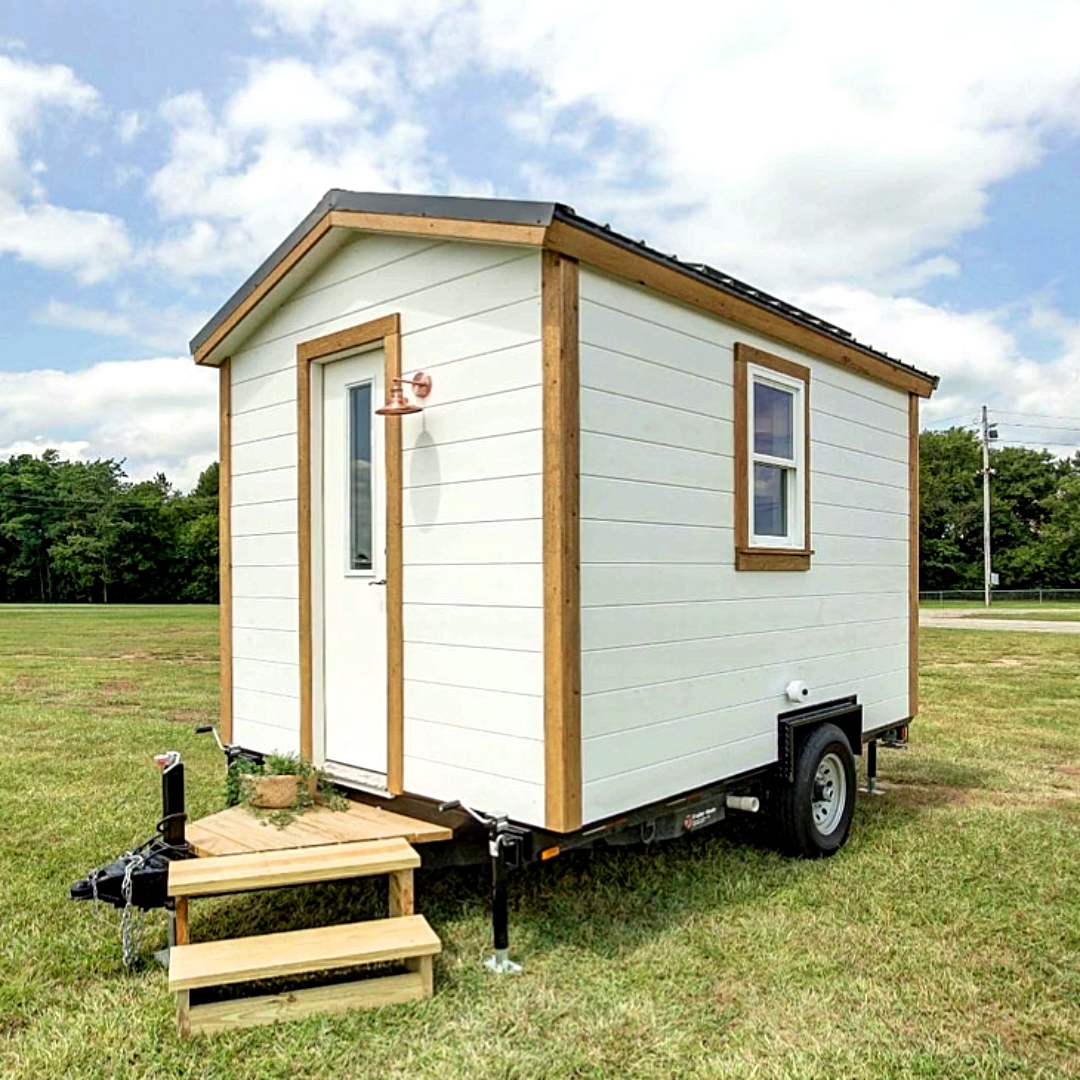 102-square-foot micro house! #tinyhouse #offgrid