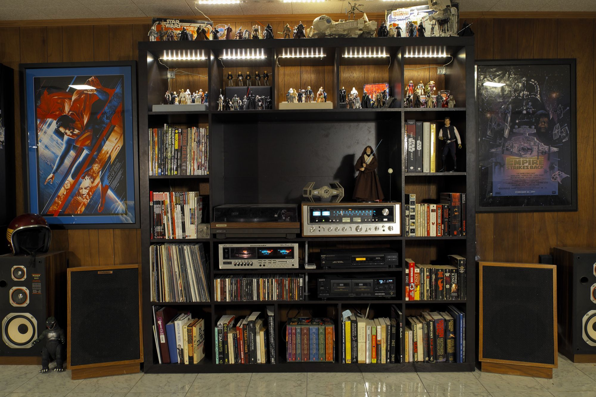 Found on reddit. I have this Expedit shelf. And a bunch of