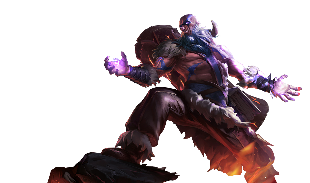 Tribal Ryze Render League Of Legends By Uberwild League Of Legends League Of Legends Characters People Png