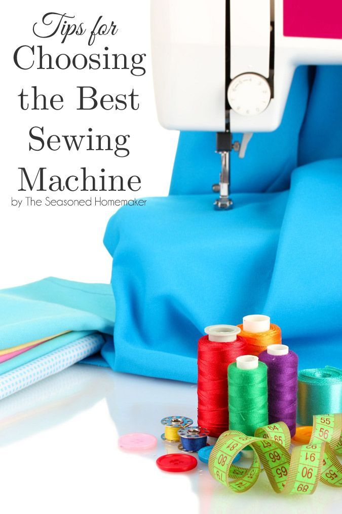 5 Tips for Buying Your First Sewing Machine | Sewing ...