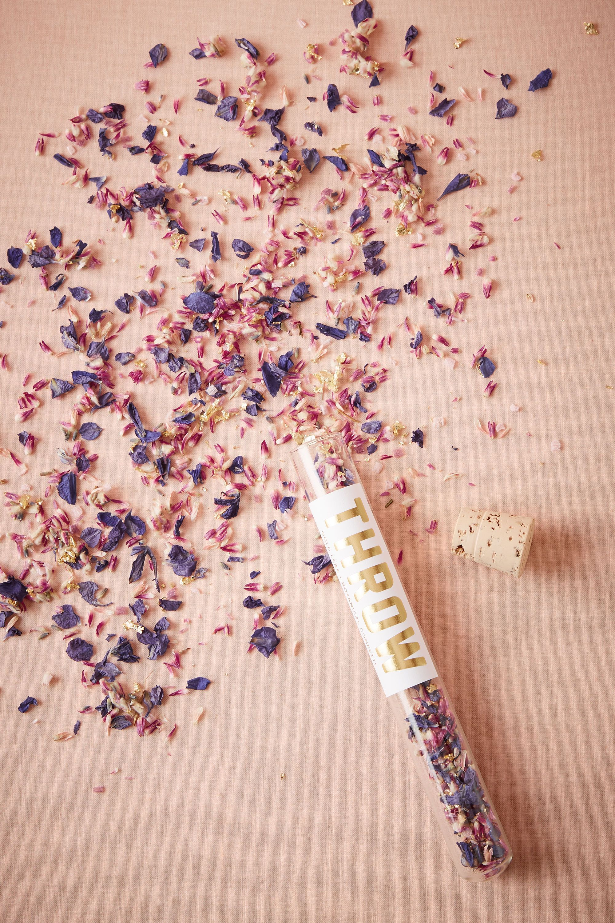 Eco-Friendly Floral Confetti from @BHLDN | wedding love. | Pinterest ...