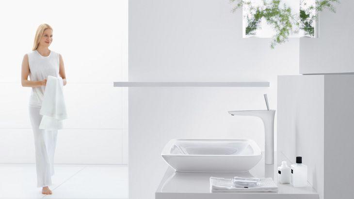 Une eau courante agréable, un design dans les règles de l'art: PuraVida.  Hansgrohe