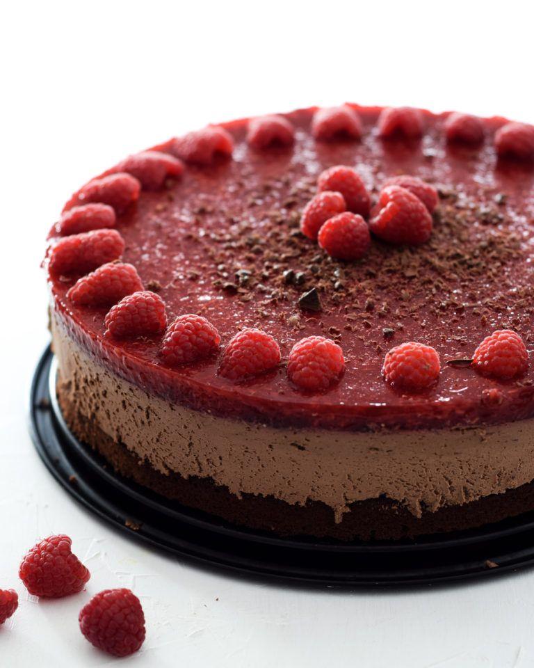 Himbeer Mousse Au Chocolat Torte Rezept Kuchen Und Torten Mousse Au Chocolat Torte Torte Ohne Backen