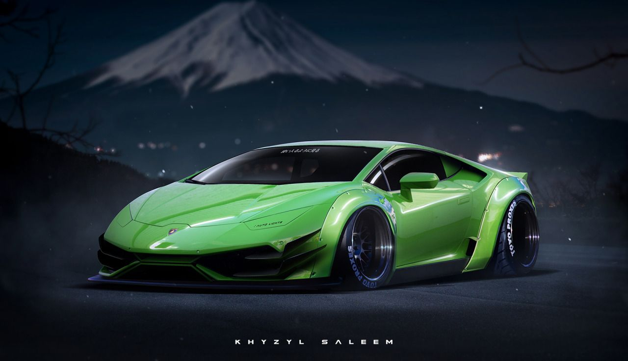 Lamborghini Huracan Touched By Extreme Japanese Tuning In