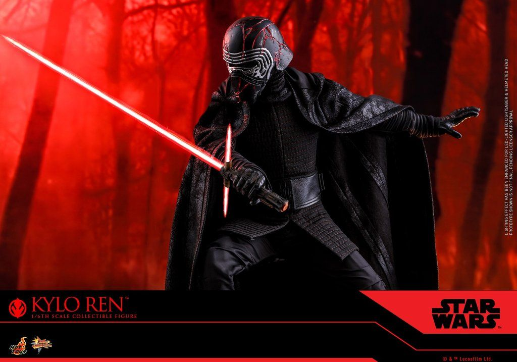 Hot Toys Mms560 Star Wars The Rise Of Skywalker Kylo Ren Star Wars Figures Star Wars Kylo Ren Hot Toys