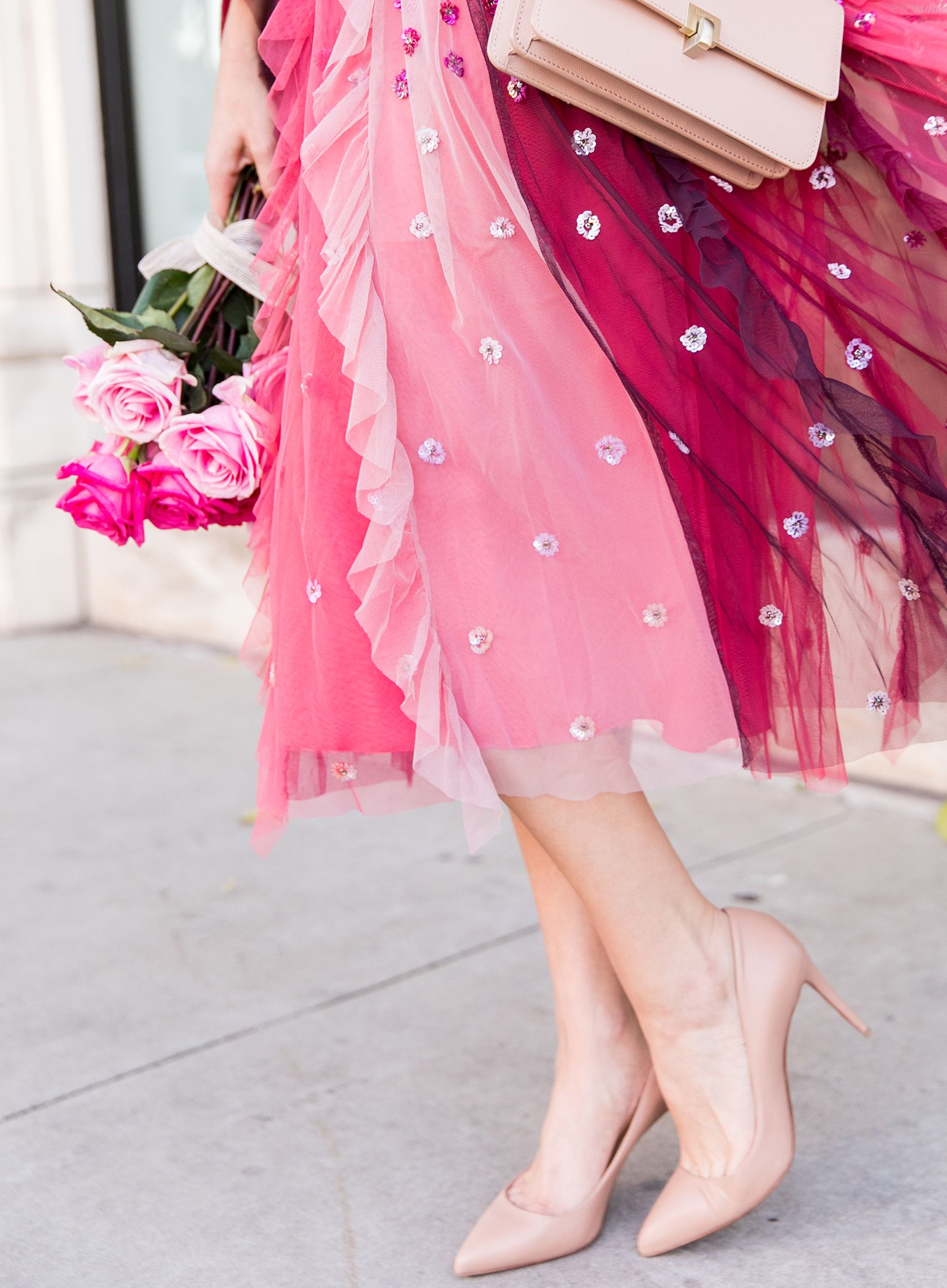 81a7da8748a Galentine's Day In A Tulle Skirt & Fur | Shoe Crush | Tulle, Skirts ...