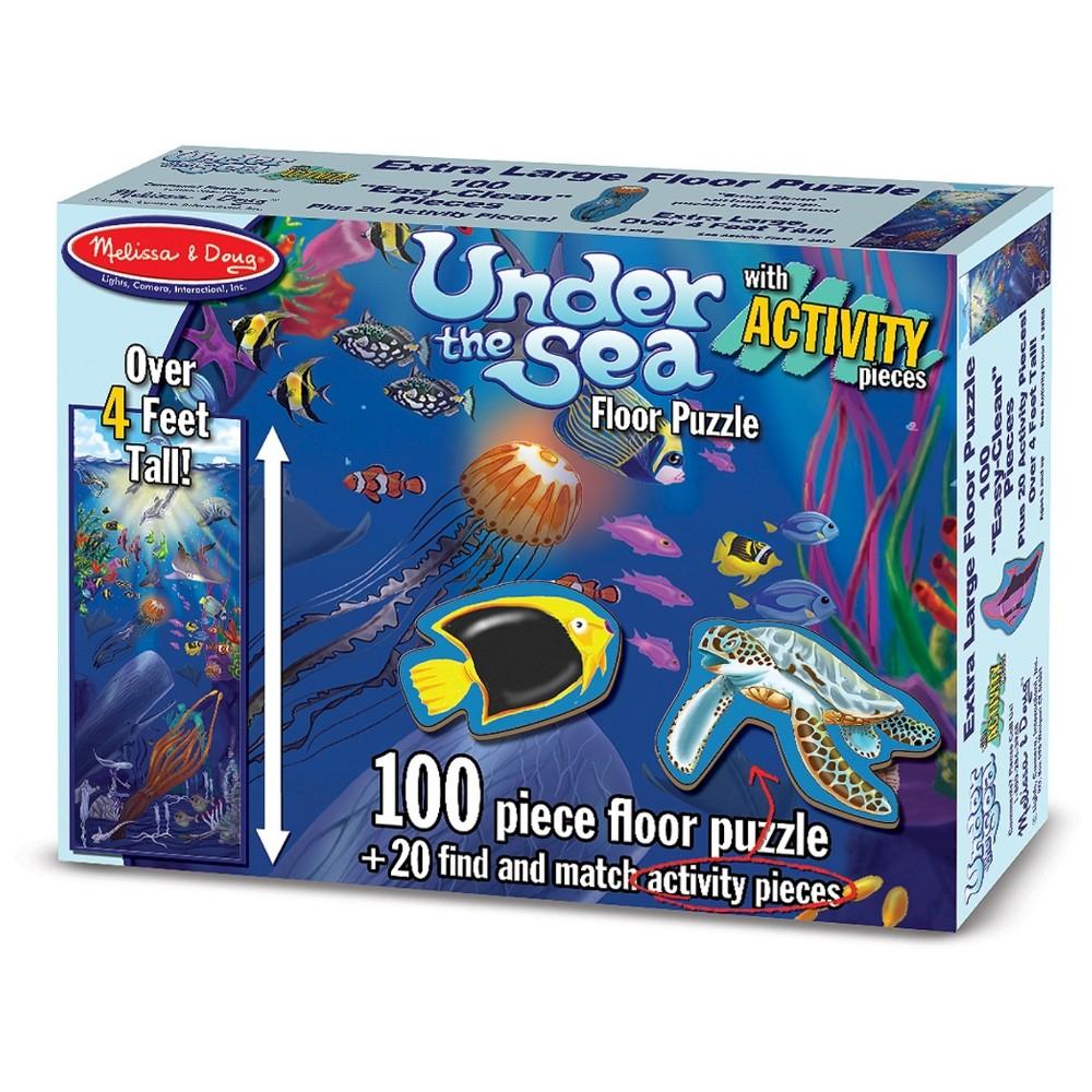 Underwater Floor Puzzle Logo