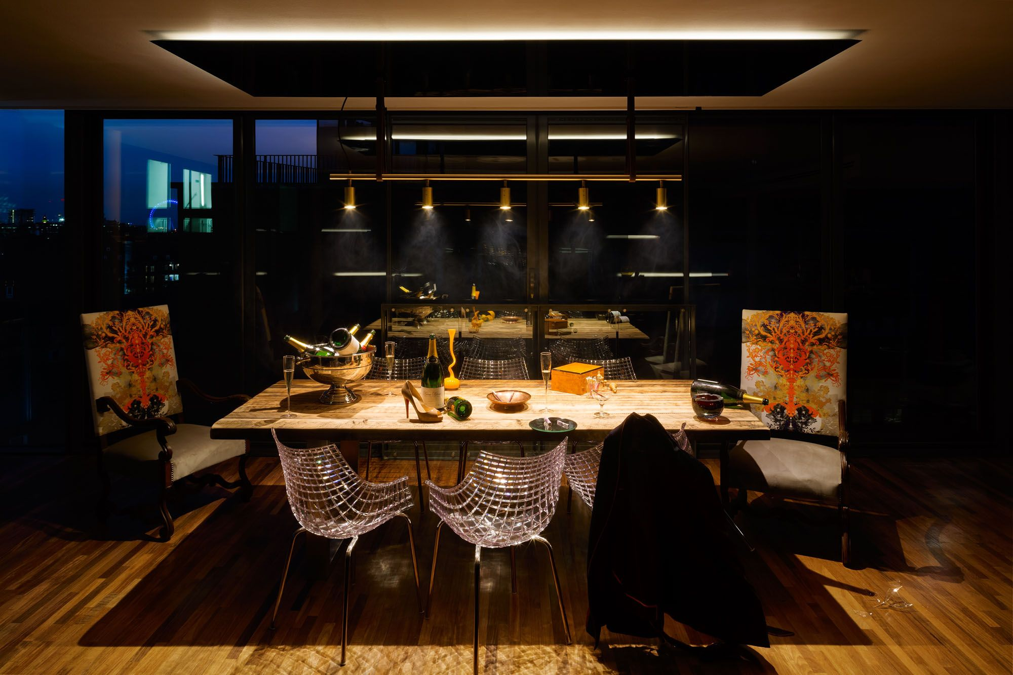 A Penthouse That Celebrates London With A Cutting-Edge Design