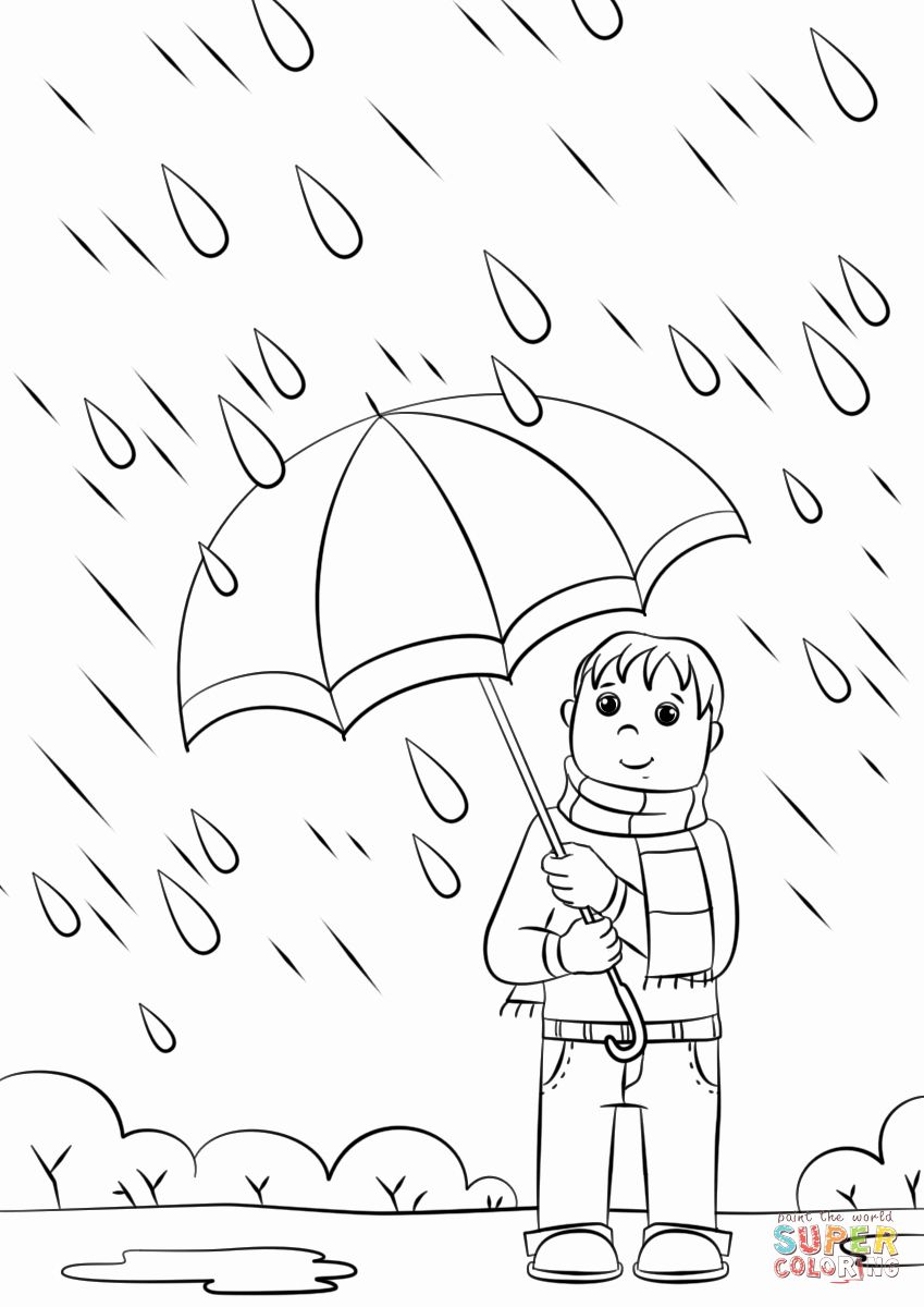 Snowy Day Coloring Pages Elegant Printable Stormy Weather Coloring Pages Di 2020 Sketsa