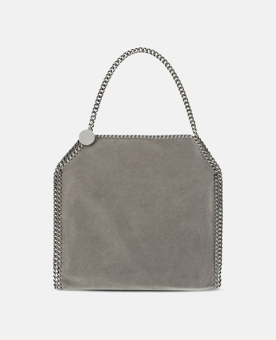 cbcd1a5b1d Light Grey Falabella Shaggy Deer Small Tote - Stella Mccartney Official  Online Store - FW 2017 - 2018