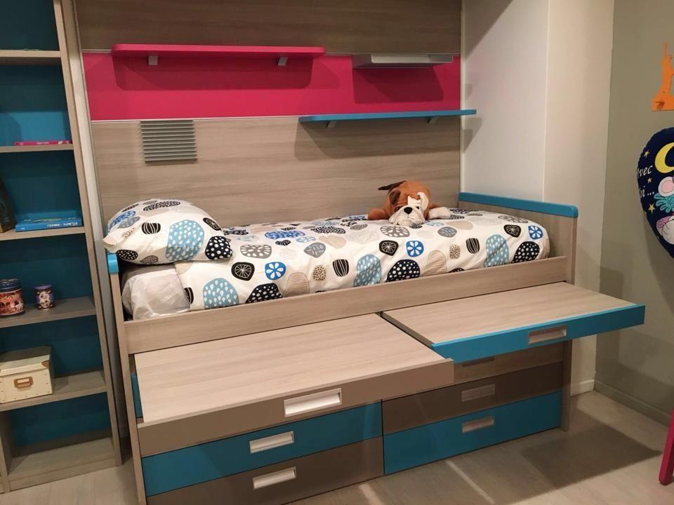Porro Camerette ~ Due letti e una scrivania in un unico spazio camerette pinterest