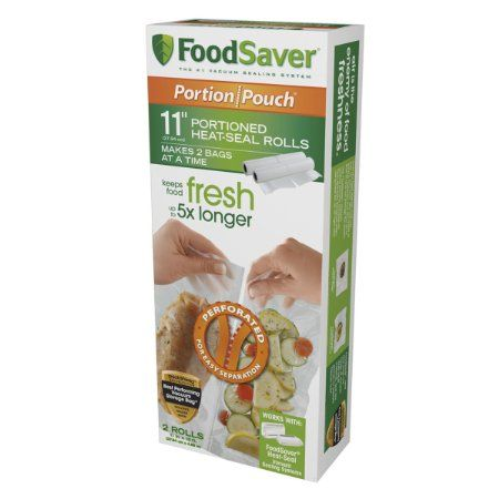 #Amazon: $19.81 or 1% Off: Food Saver 11 inch Portion Pouch Rolls 2pk $6.58 Free Shipping w/ Prime @ Amazon #LavaHot http://www.lavahotdeals.com/us/cheap/food-saver-11-inch-portion-pouch-rolls-2pk/79068