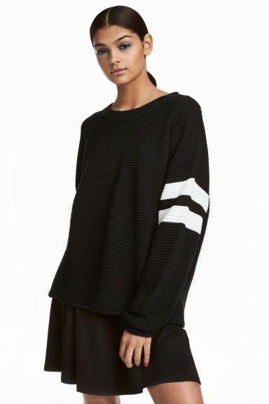 official photos e1e75 8c242 Pullover in maglia a coste | Style e cose simili | Maniche ...