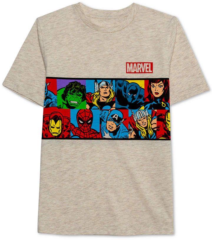 Marvel Big Boys Vintage Graphic T Shirt   Graphic tshirt