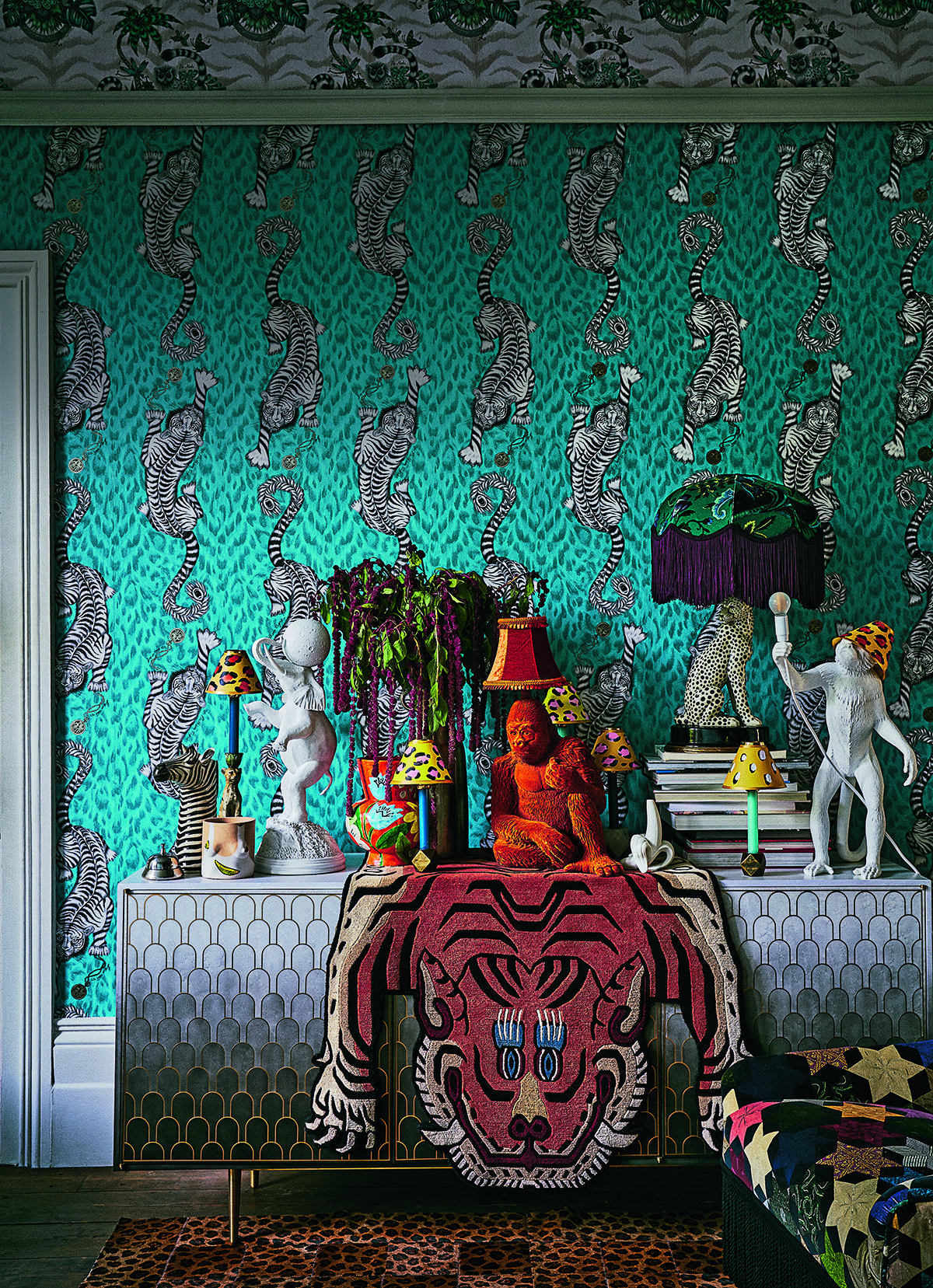 Maximalism Maximalist interior, Interior decorating