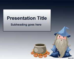 Magician Powerpoint Template Is A Free Magic Template For Powerpoint