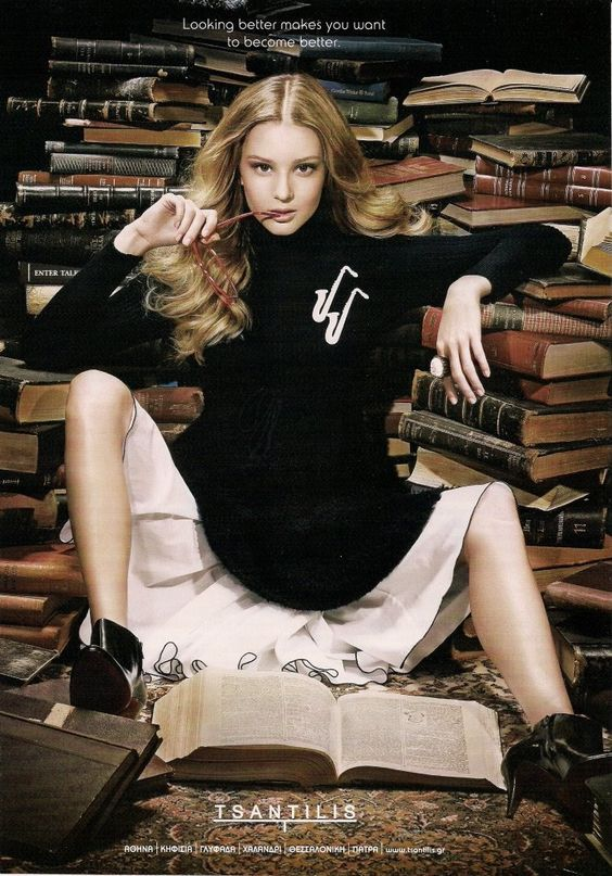 Sexy Bibliothekarin