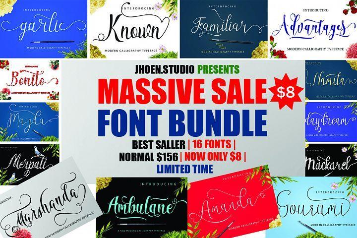 Download Big bundle font scrip | Font bundles, Creative fonts, Font ...