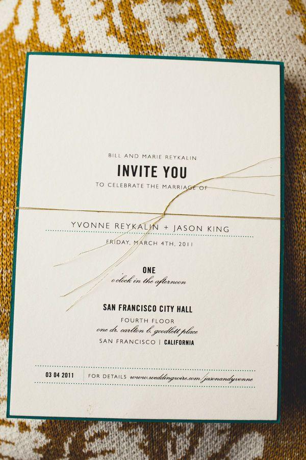 San Francisco Wedding at City Hall + Starbelly Restaurant | Wedding ...