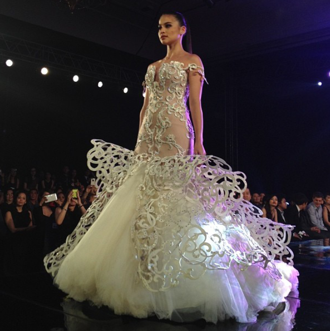 Fashion PULIS: Fab or Drab: Anne Curtis in Francis Libiran at ...