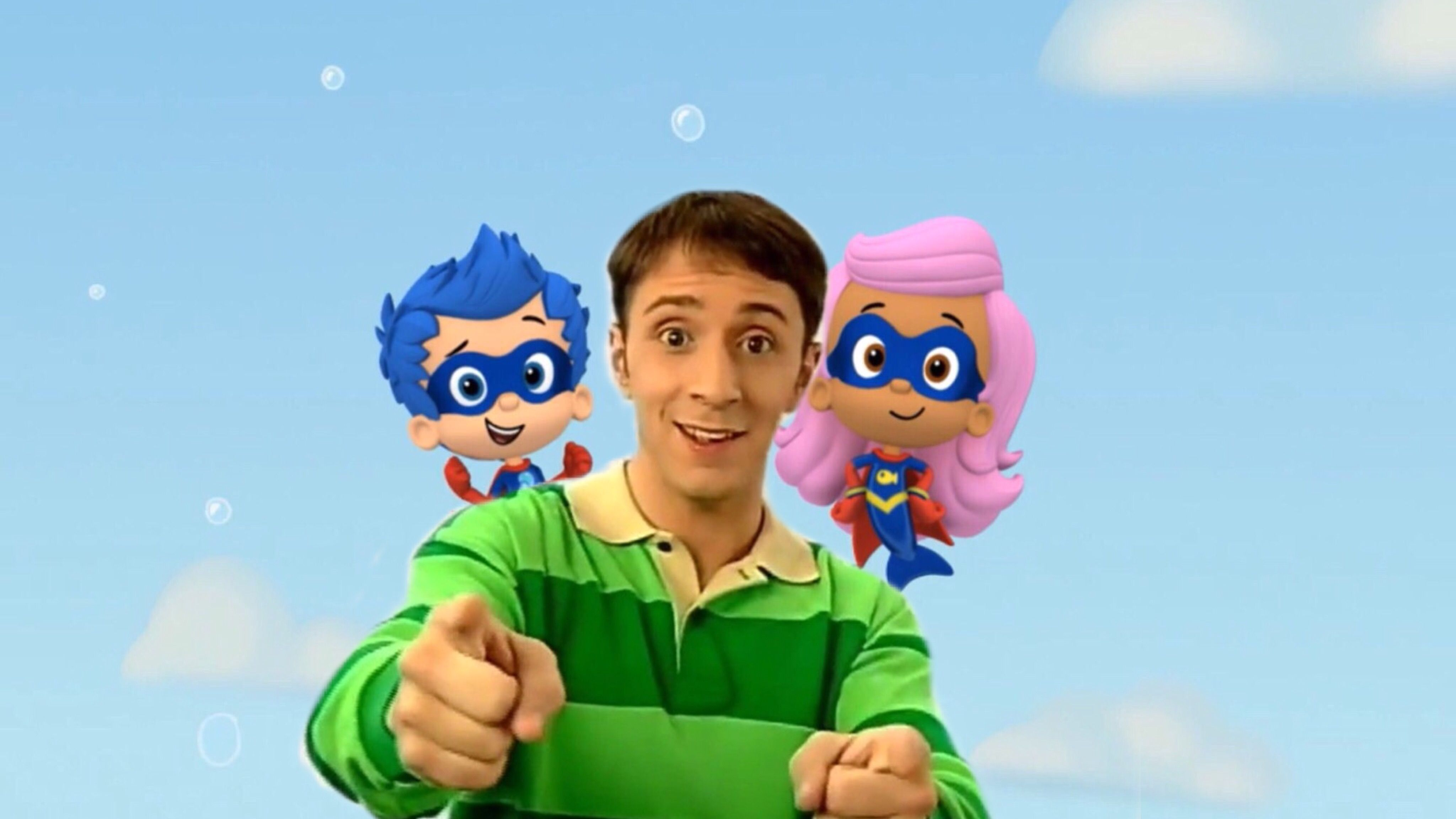 Bubble Guppies Crossover With Blue's Clues Introducing Guppy