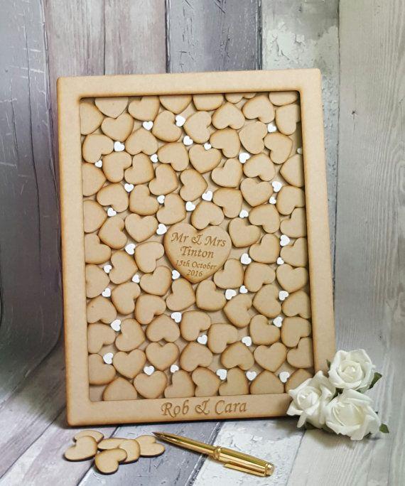 Drop Box Wedding Guest Book, Personalized Drop Box Style, Wedding ...
