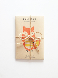 Baby Fox Cards (Set of 5) via Fancy HuLi | Designer Gift Shop for Animal Lovers