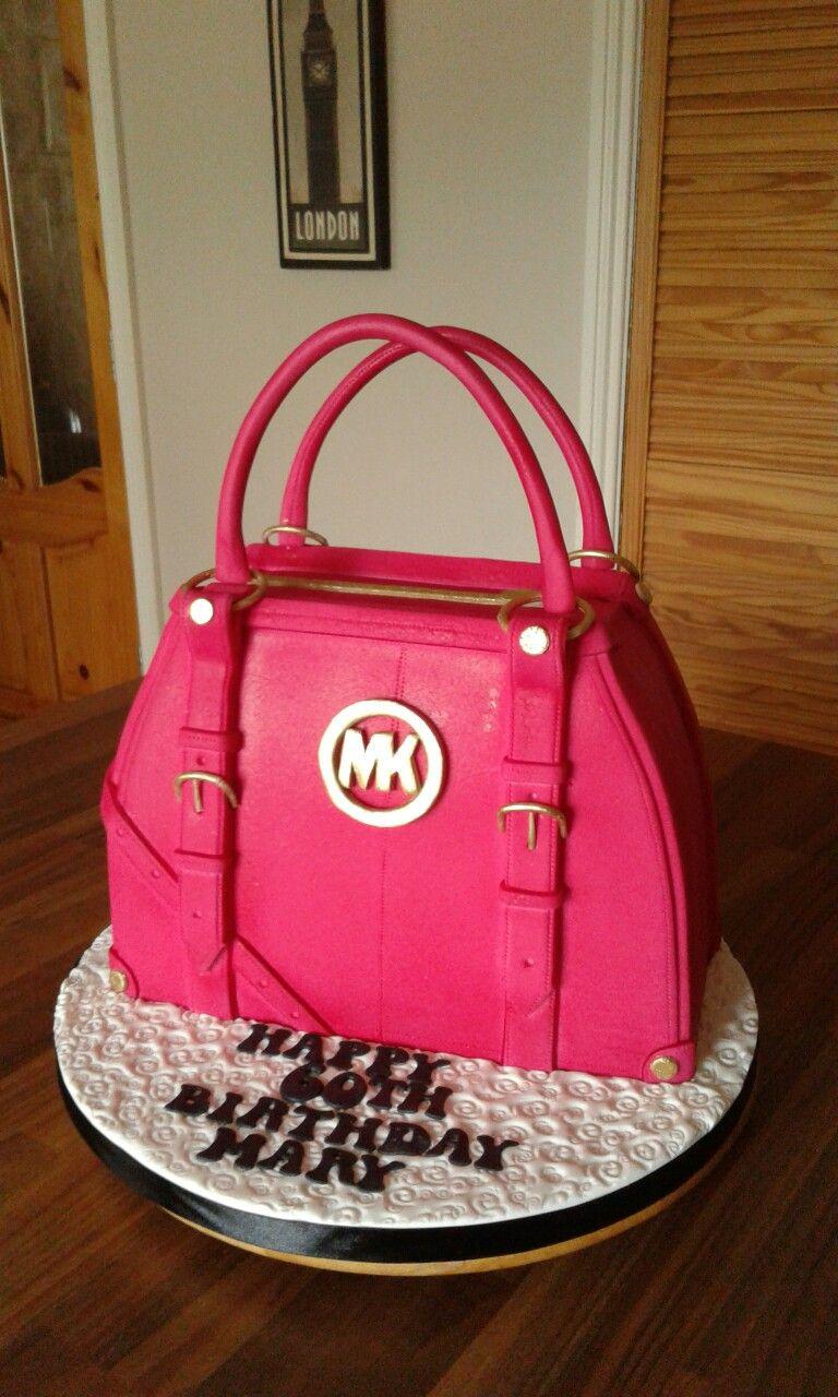 4a81e071b5 MK handbag cake … | pâte à sucre,gâteaux anniversaire ,gâteaux 3D ...