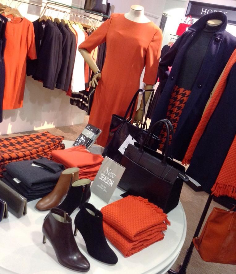 We adore the stunning Hobbs autumn 14 collection that's arriving in our womenswear department!