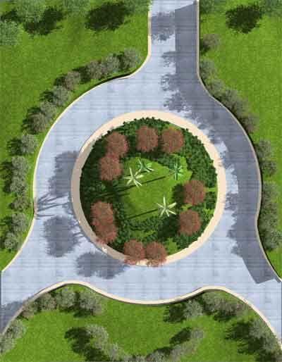 jardines con rotondas - Buscar con Google