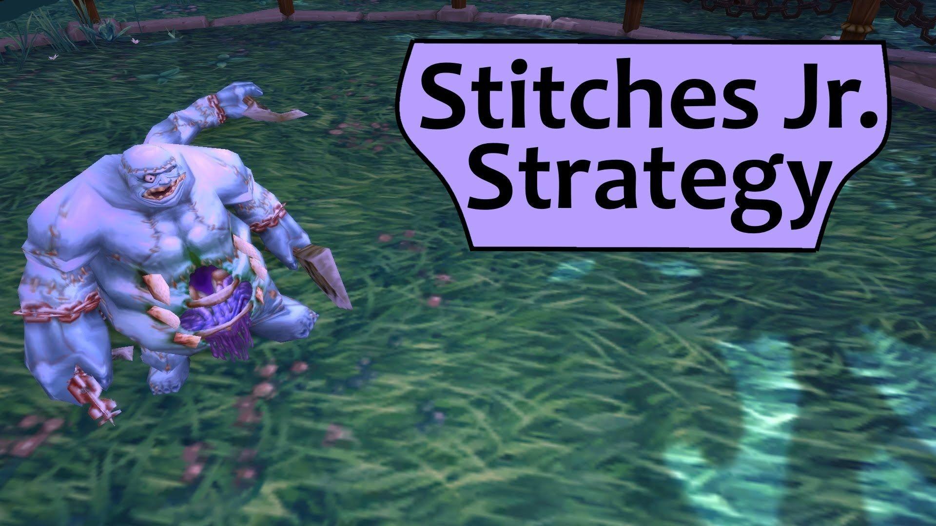 World Of Warcraft Wod Stitches Jr Garrison Menagerie Daily Pet
