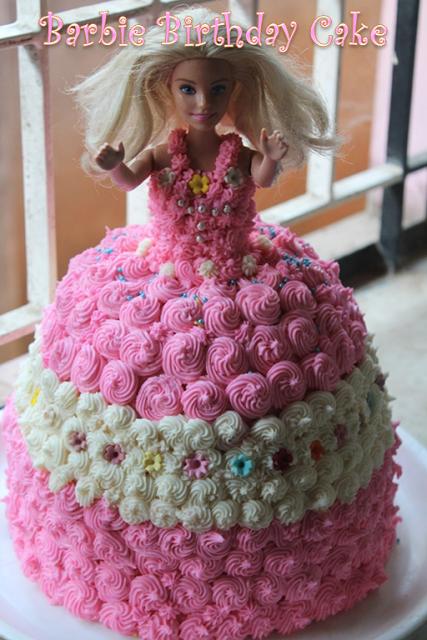 Barbie Birthday Cake Recipe