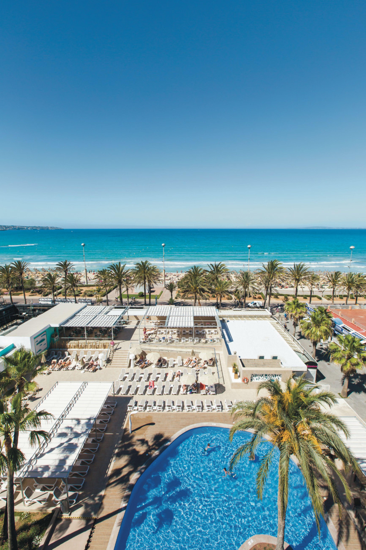 Playa De Palma Mallorca España Riu San Francisco Hotel En Mallorca Majorca Hotel Riu Beach Hotels
