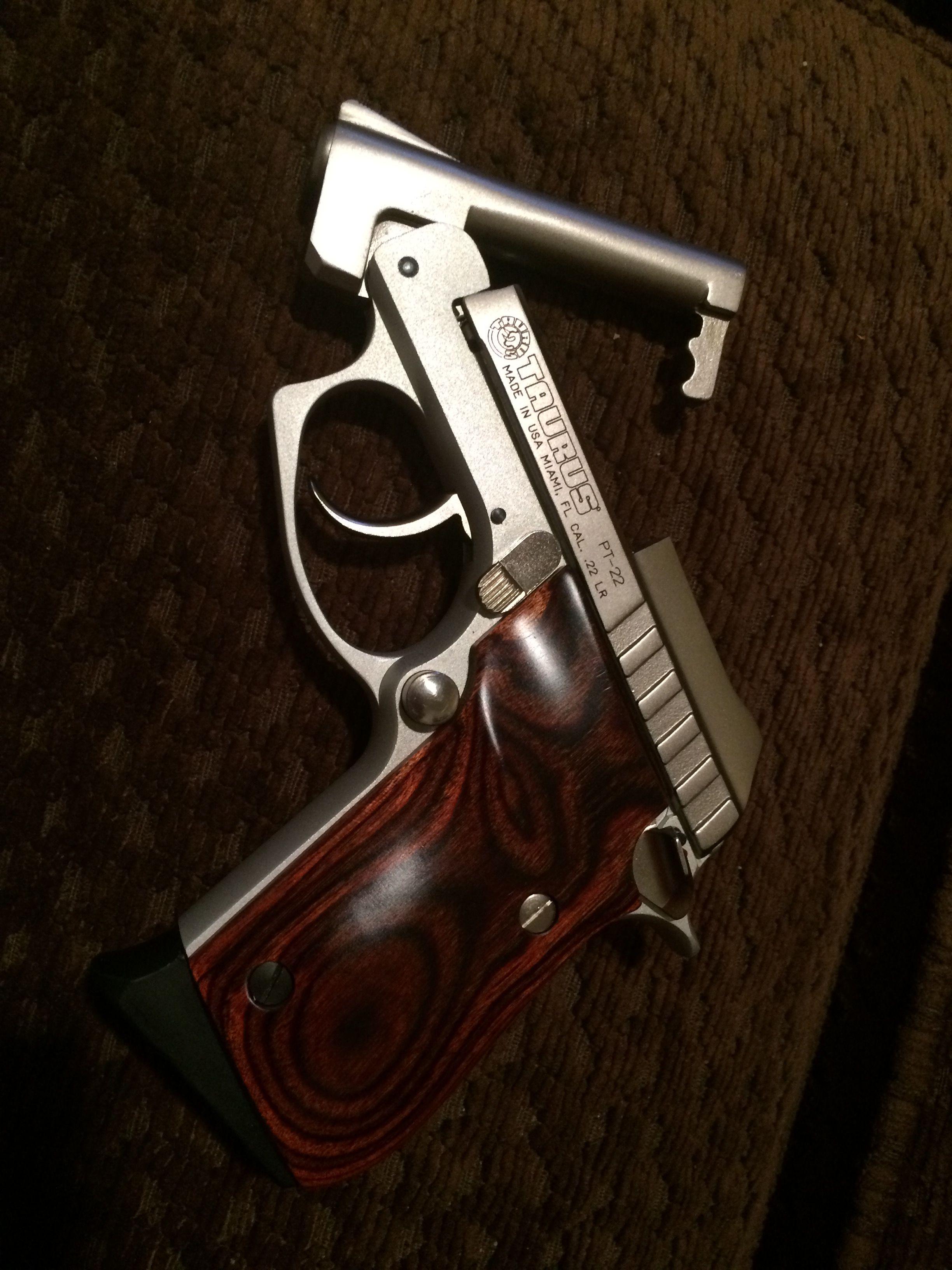 One Of My Guns A Taurus Pt 22 Guns Pinterest Guns Firearms
