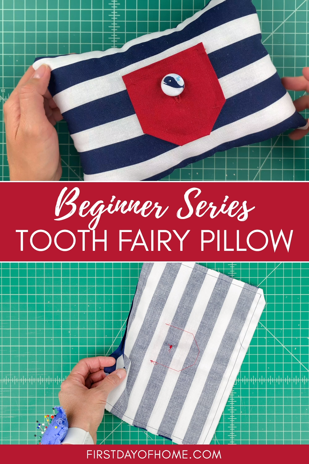 Photo of Tooth Fairy Pillow – Easy Beginner Sewing Tutorial