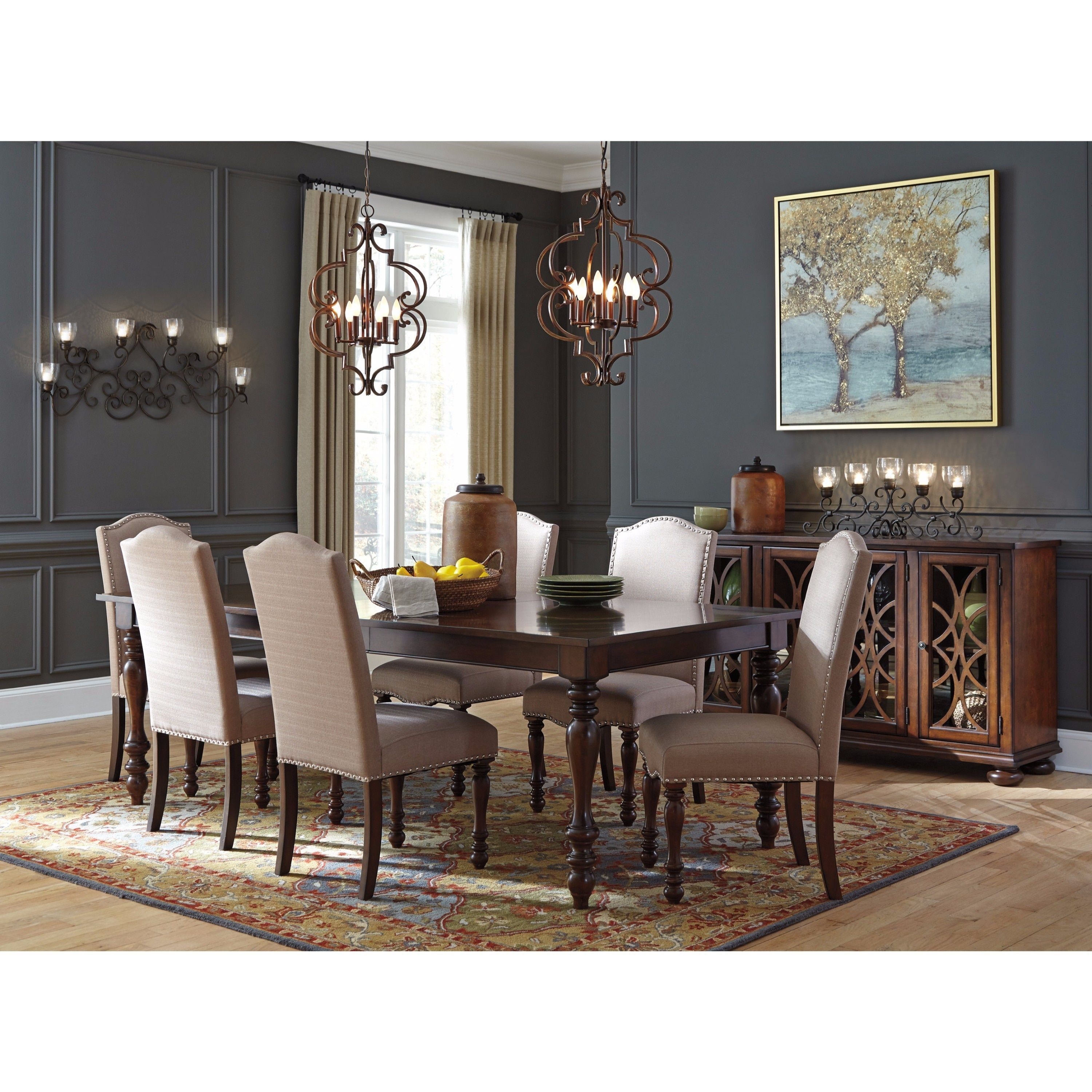 Signature Design By Ashley Baxenburg Brown Counter Height 5 Piece Dining Set  (Dining Set), Size 5 Piece Sets | Products | Pinterest | Dining Sets