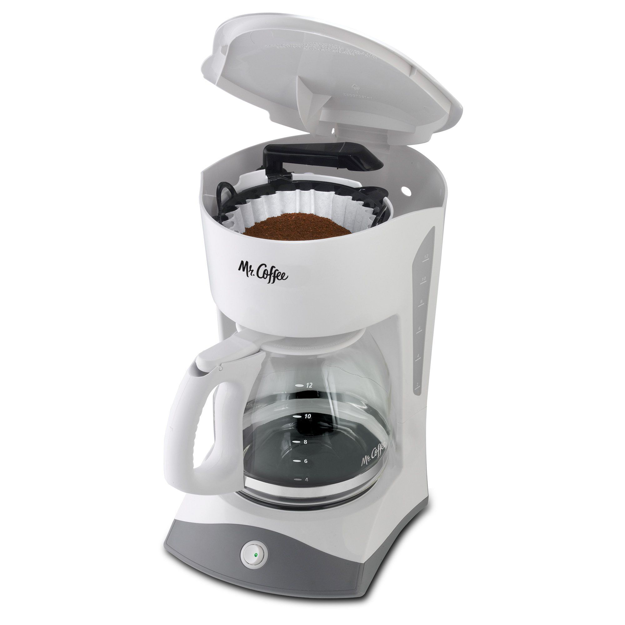 Mr. Coffee 12Cup Manual Coffee Maker White * You can get