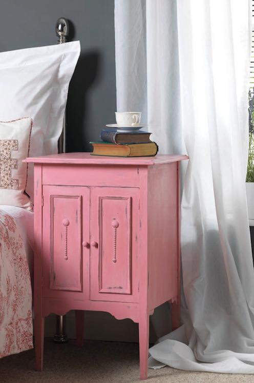 Crea un efecto vintage en tus muebles antiguos con paletas - Pintura acrilica para muebles ...