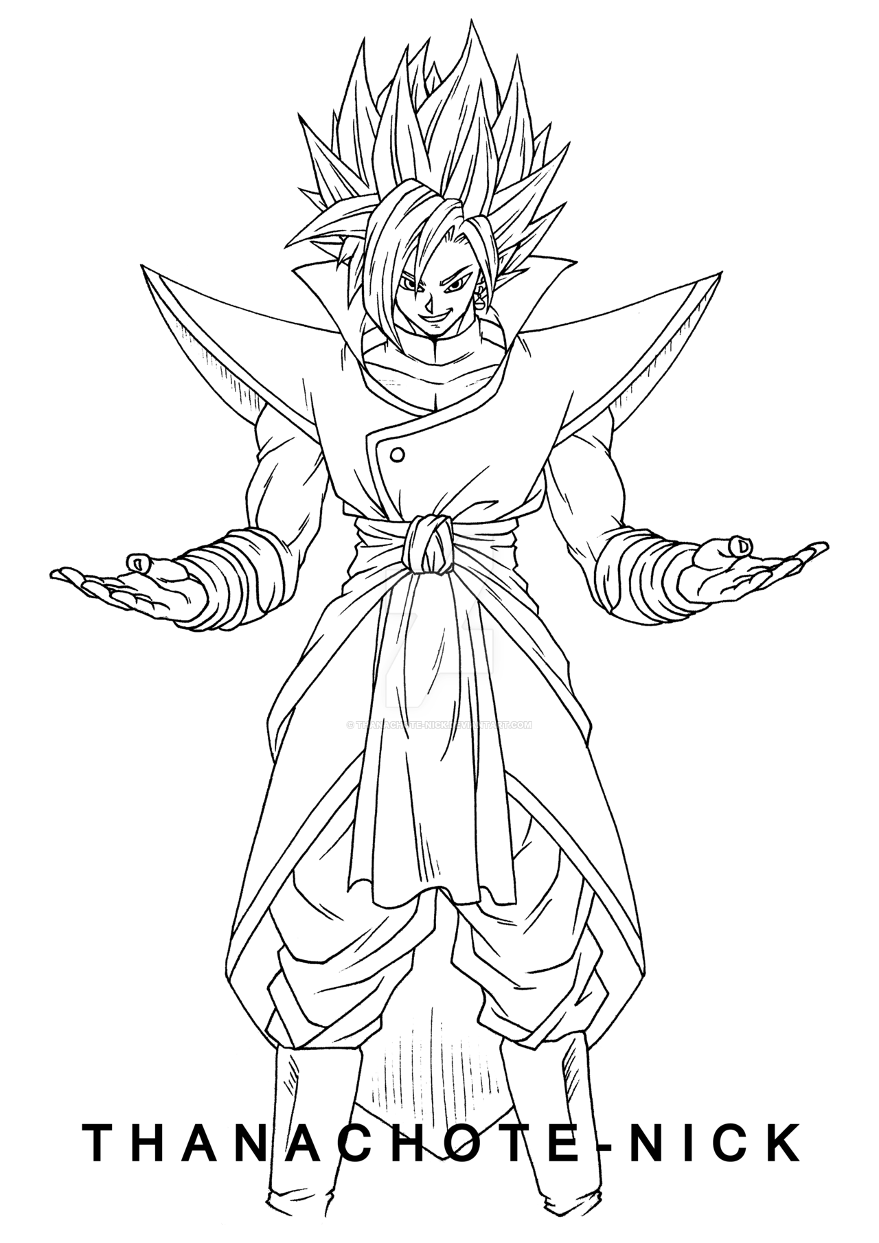 Saga dragon ball epic characters dbz son goku deviantart fan art