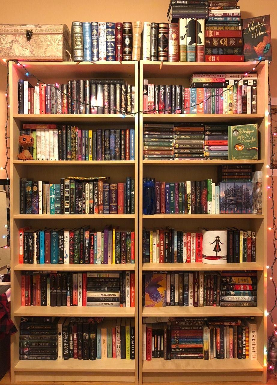 Bookshelves As Of Jan 1st 2018